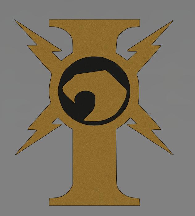 222.PNG Télécharger fichier STL gratuit icône de custodes warhammer 40k • Objet pour impression 3D, Lance_Greene