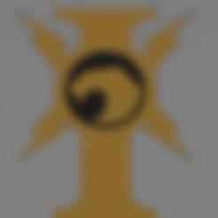 Télécharger fichier STL gratuit icône de custodes warhammer 40k • Objet pour impression 3D, Lance_Greene