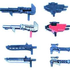 Descargar modelo 3D gratis Transformadores CW Sunstreaker gunsword, Lance_Greene