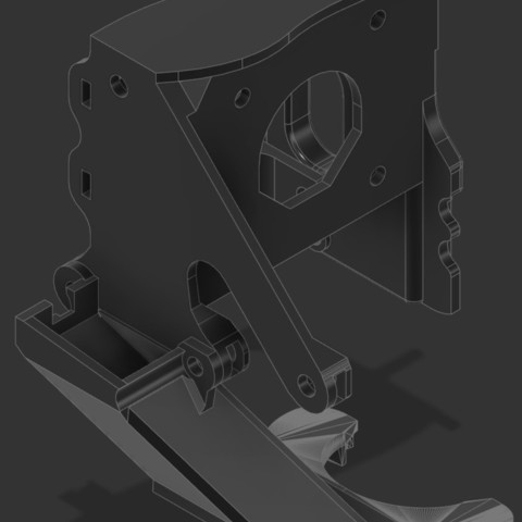 5af0dda81209b4b4d5aa4b96120be8f8_display_large.jpg Télécharger fichier STL gratuit CR-10 E3D montage à entraînement direct • Plan imprimable en 3D, Lance_Greene