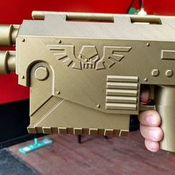 Free 3D printer designs Warhammer laspistol, Lance_Greene