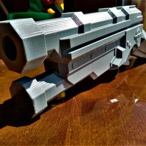 Download free STL file Dishonored 2 gun • 3D printable model, Lance_Greene