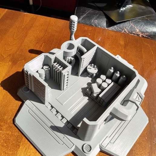 4-1.jpg Télécharger fichier STL gratuit Dépôt d'approvisionnement Starcraft 2 • Modèle à imprimer en 3D, Lance_Greene