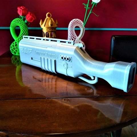799bad5a3b514f096e69bbc4a7896cd9_display_large.jpg Télécharger fichier STL gratuit Fusil de chasse Warhammer 40k arbites • Modèle pour impression 3D, Lance_Greene