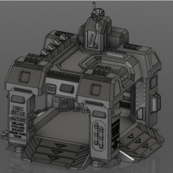 Capture.PNG Download free STL file StarCraft 2 Factory • 3D printable design, Lance_Greene