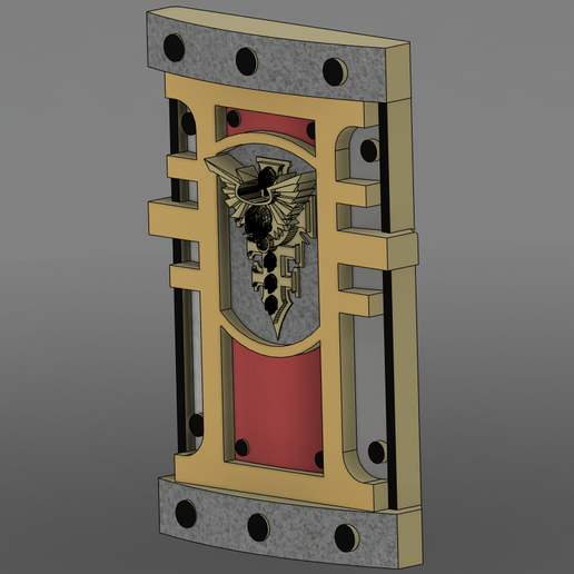 Download free 3D printing models Warhammer Power Shield, Lance_Greene