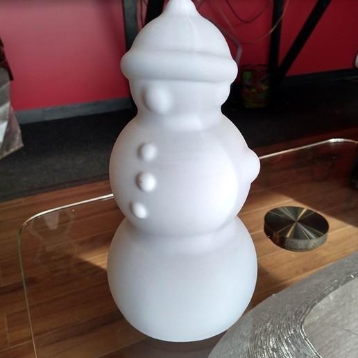 3.jpg Télécharger fichier STL gratuit Joli bonhomme de neige • Design pour impression 3D, Lance_Greene