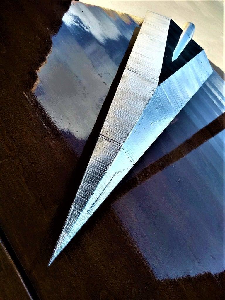 ae8f2d763344c3eafc0da96a6c13a55b_display_large.jpg Télécharger fichier STL gratuit Clou cannelé de Hollow Knight • Modèle à imprimer en 3D, Lance_Greene