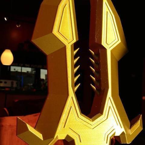 c3af49a0efa1f0e79479577f32666b34_display_large.jpg Download free STL file Solarius, The Sunfire Spear • 3D printable object, Lance_Greene