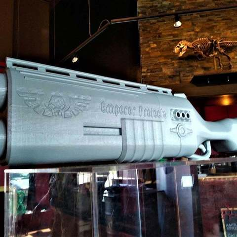 f3ccdd27d2000e3f9255a7e3e2c48800_display_large.jpg Download free STL file Warhammer 40k arbites shotgun • 3D printing object, Lance_Greene