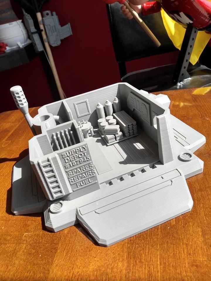 3-1.jpg Télécharger fichier STL gratuit Dépôt d'approvisionnement Starcraft 2 • Modèle à imprimer en 3D, Lance_Greene