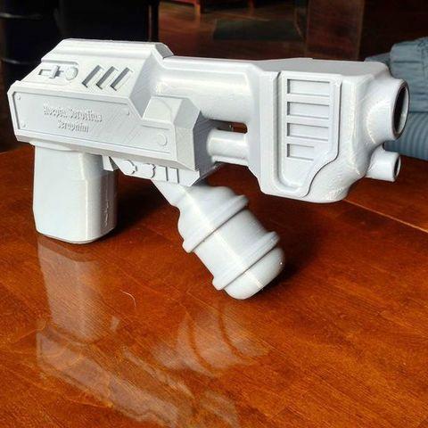 Télécharger modèle 3D gratuit Fusée à main Warhammer, Lance_Greene