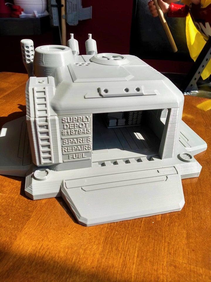 5.jpg Télécharger fichier STL gratuit Dépôt d'approvisionnement Starcraft 2 • Modèle à imprimer en 3D, Lance_Greene