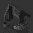 Free 3D printer designs CR-10 E3D direct drive mount, Lance_Greene