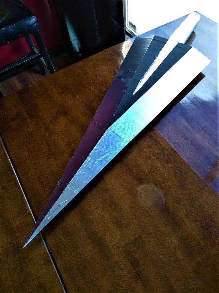 f8b1e03b2a9ba701857c3b306aa9d83e_display_large.jpg Télécharger fichier STL gratuit Clou cannelé de Hollow Knight • Modèle à imprimer en 3D, Lance_Greene