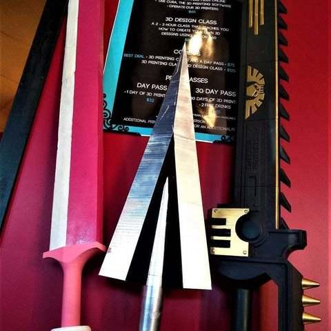 64dddb484d4f4a397e4b98017f734c8d_display_large.jpg Télécharger fichier STL gratuit Clou cannelé de Hollow Knight • Modèle à imprimer en 3D, Lance_Greene
