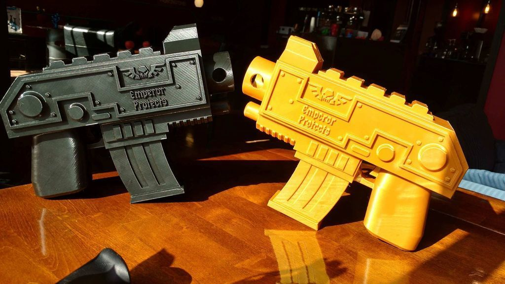 94a5f63f0e5e325468bb6a911e169443_display_large.jpg Download free STL file Warhammer Bolt Gun • 3D print object, Lance_Greene