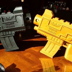 Free 3D printer designs Warhammer Bolt Gun, Lance_Greene