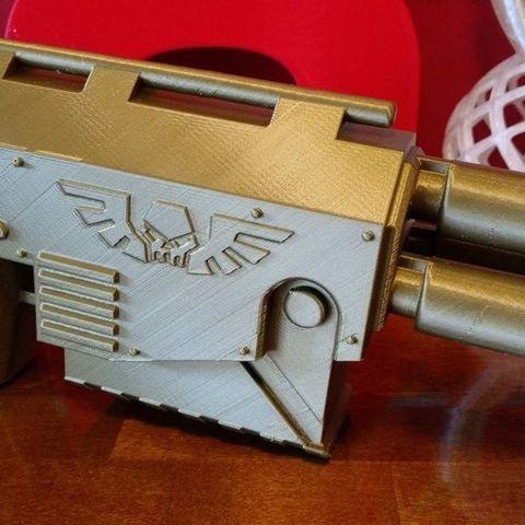 c2849a7f973797853db72f3f45824b62_display_large.jpg Download free STL file Warhammer laspistol • 3D printer template, Lance_Greene