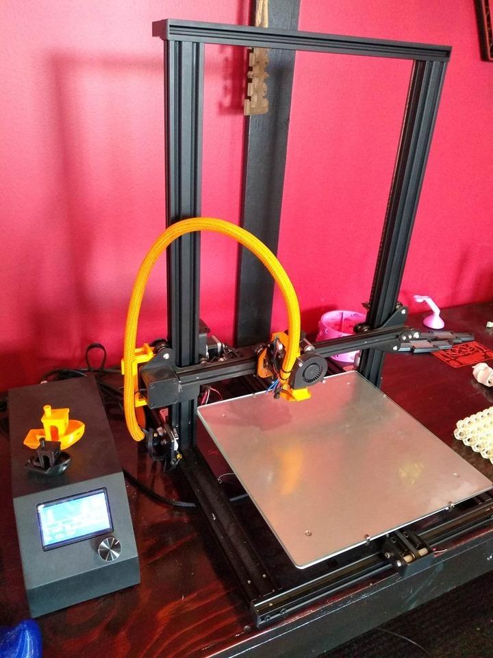 3.jpg Télécharger fichier STL gratuit Support de câble CR-10 PLUS ULTRA • Modèle pour impression 3D, Lance_Greene