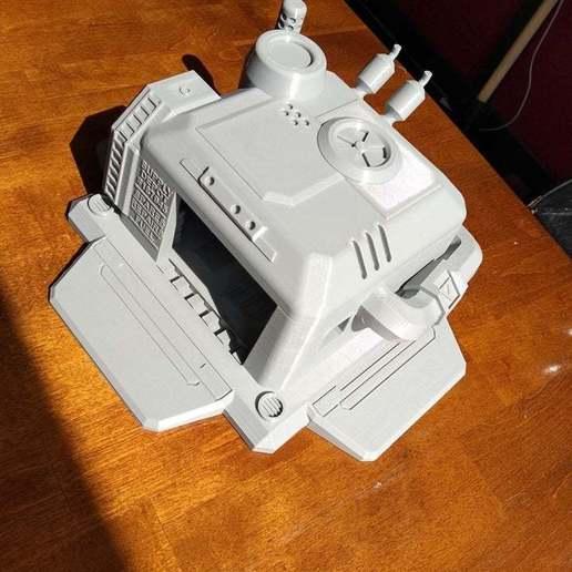 Download free STL file Starcraft 2 Supply Depot, Lance_Greene