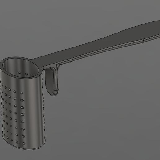 Download free 3D printing templates Tea strainer, Lance_Greene