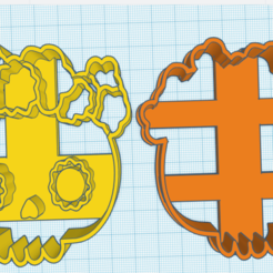 CALAVERA 1.png Download STL file skull cracker cutter • 3D printable template, enriquealonso_a98