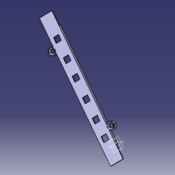 Download free 3D printer templates Led headband cover, Alex_mln