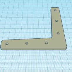 3D print model Flat bracket / Flat bracket, hennoloic