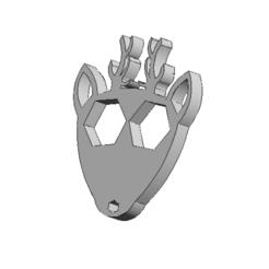 Archivos STL gratis Deer Key Chain , ViatyDesign