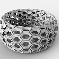 untitled.49.jpg Download free STL file Diseño Honey Comb • 3D printer object, ViatyDesign