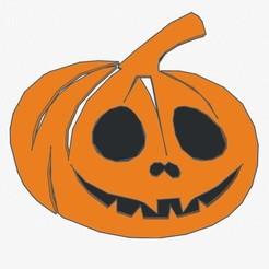 Calabaza Halloween!_1.jpg Download STL file Cake Topper Pumpkin Halloween! (Pumpkin) • 3D print object, 3Dgardo