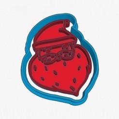 Santa's Cookie Cutter_1.jpg Télécharger fichier STL Coupe-biscuits du Père Noël • Modèle pour imprimante 3D, 3Dgardo