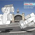 Free STL files Double-sided formula 1 Maker Faire Prague, mikimaus-cz