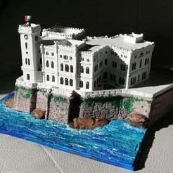 ba06530435fb5a139f0392fb0a2b8bcd_display_large.jpg Télécharger fichier STL gratuit Château de Miramare - Trieste • Modèle à imprimer en 3D, Cipper