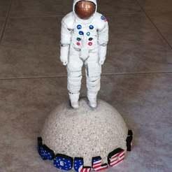 Descargar STL gratis Homenaje a Apolo 11, Cipper