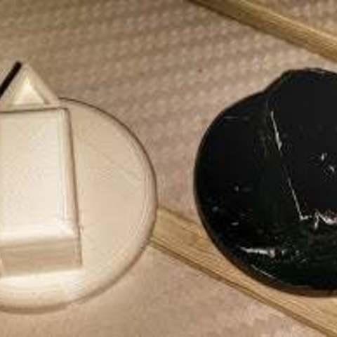 Télécharger STL gratuit Manopola par solarium, Cipper
