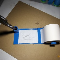 20191120_211240.jpg Télécharger fichier STL gratuit Prenez des notes • Plan pour imprimante 3D, Cipper