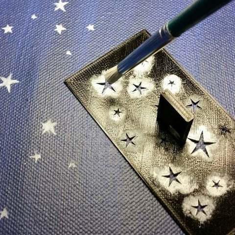 Download free STL file Stencil Stars, cipperki