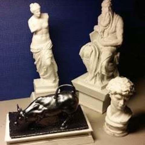 Download free 3D printer designs Pedestal for statue, cipperki