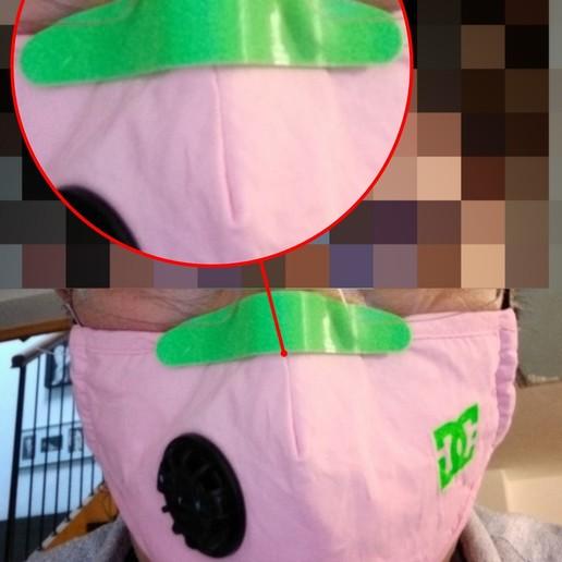 iMarkup_20200514_200009.jpg Download free STL file Nose pad for mask - COVID • 3D printing design, Cipper