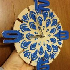Download free 3D printer files MyClock, cipperki