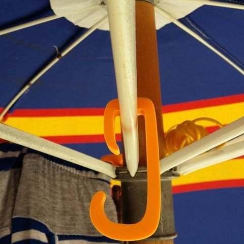 Télécharger fichier imprimante 3D gratuit Crochet pour parapluie, Cipper