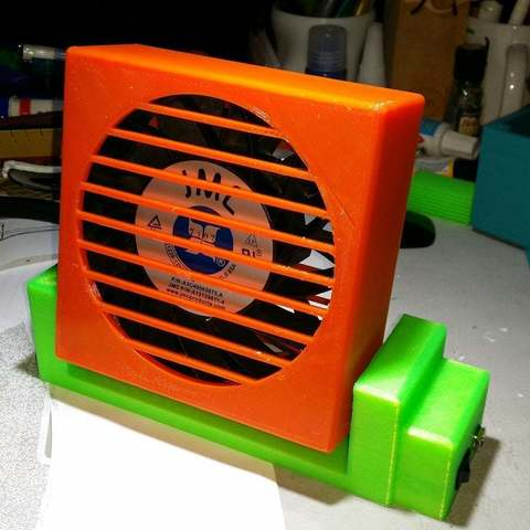 Descargar STL gratis Ventilador 120mm, Cipper
