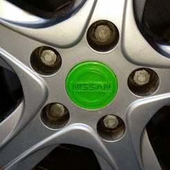 Download free 3D model For Nissan wheel, cipperki