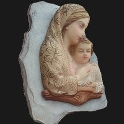 preview-2.jpeg Download STL file My grandmother's Madonna • 3D printing object, Cipper