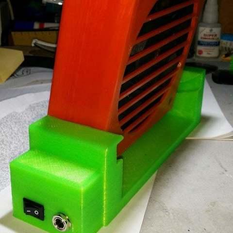 Download free 3D printer model Fan 120mm ・ Cults