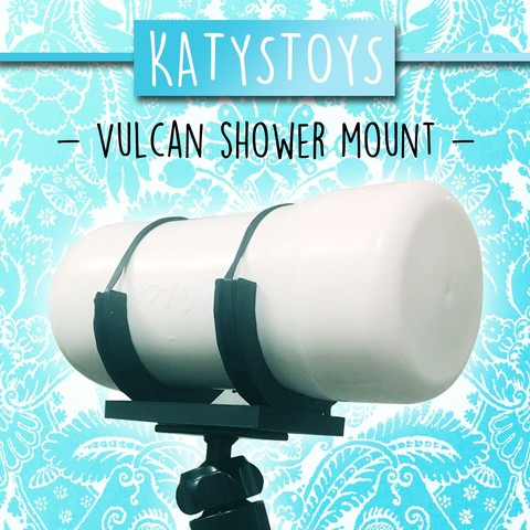 3D printer files Vulcan Shower Mount, KatysToys
