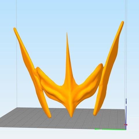 Ca36pture.JPG Download STL file saint seiya hagen de merak • Template to 3D print, darkangel