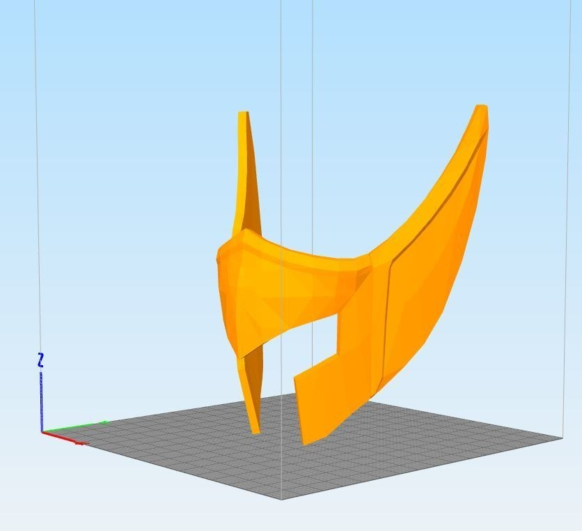 Cap6932ture.JPG Download STL file helmet of the golden knight of Aquarius • Object to 3D print, darkangel
